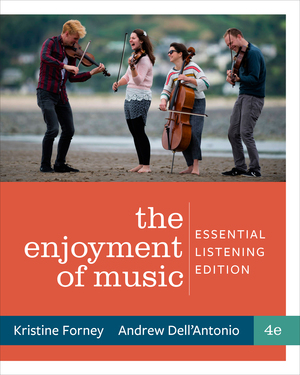 Solution Manual for Enjoyment of Music Essential Listening 4th Edition by Kristine Forney, Andrew Dell'Antonio ISBN 9780393421552