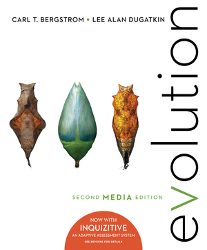 Solution manual for Evolution 2nd Edition, Media Update by Carl T Bergstrom, Lee Alan Dugatkin ISBN: 9780393691306