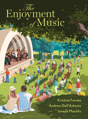 Test Bank for The Enjoyment of Music 13th Edition by Kristine Forney, Andrew Dell'Antonio, ISBN 9780393664386