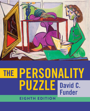 Test Bank for The Personality Puzzle 8th Edition by David C Funder, ISBN: 9780393421842
