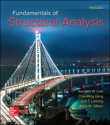 Solution Manual For Fundamentals of Structural Analysis 5th Edition By Kenneth Leet,Chia-Ming Uang ,Joel Lanning,ISBN10: 0073398004,ISBN13: 9780073398006