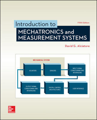 Test Bank For Introduction to Mechatronics and Measurement Systems 5th Edition By David Alciatore,ISBN10: 1259892344,ISBN13: 9781259892349