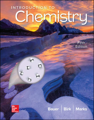 Test Bank For Introduction to Chemistry 5th Edition By Rich Bauer,James Birk,Pamela Marks ,ISBN10: 1259911144,ISBN13: 9781259911149