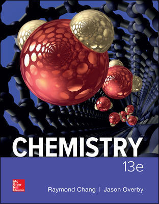 Test Bank Chemistry 13th Edition By Raymond Chang,Jason Overby,ISBN10: 1259911152,ISBN13: 9781259911156