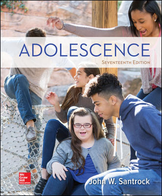 Test Bank For Adolescence 17th Edition By John Santrock,ISBN10: 1260058786 ,ISBN13: 9781260058789