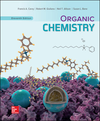 Solution Manual For Organic Chemistry 11th Edition By Francis Carey,Robert Giuliano ISBN10: 1260148920,ISBN13: 9781260148923