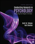 Solution Manual For Conducting Research in Psychology Measuring the Weight of Smoke 5th Edition By Brett W. Pelham, Hart Blanton, ISBN 9781544333342
