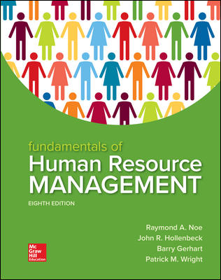 Solution Manual For Fundamentals of Human Resource Management 8th Edition By Raymond Noe, John Hollenbeck, Barry Gerhart, Patrick Wright, ISBN 10 1260079171, ISBN 13 9781260079173
