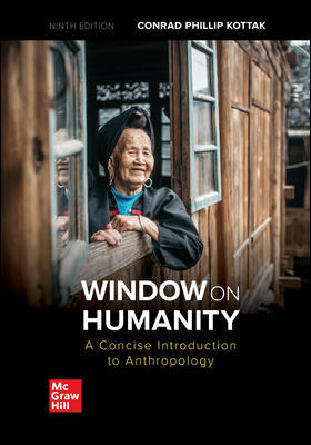 Solution Manual For Window on Humanity: A Concise Introduction to General Anthropology 9th Edition By Conrad Kottak, ISBN 10: 1260071472, ISBN 13: 9781260071474