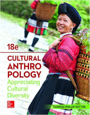 Test Bank For Cultural Anthropology 18th Edition By Conrad Kottak, ISBN 10 1260051919, ISBN 13 9781260051919