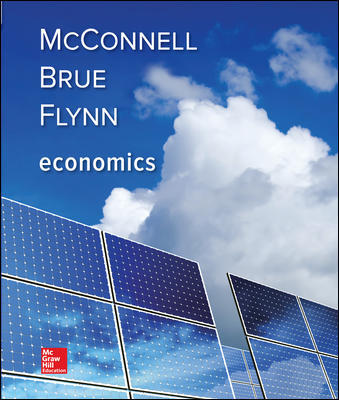 Test Bank For Economics 21st Edition By Campbell McConnell, Stanley Brue, Sean Flynn, ISBN 10 1259723224, ISBN 13 9781259723223