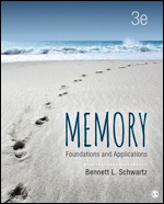 Test Bank For Memory Foundations and Applications 3rd Edition By Bennett L. Schwartz, ISBN 9781506326535