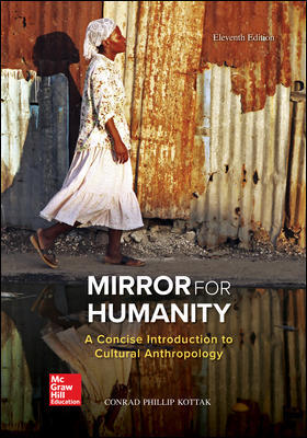 Test Bank For Mirror for Humanity A Concise Introduction to Cultural Anthropology 11th Edition By Conrad Kottak, ISBN 10 125981842X, ISBN 13 9781259818424