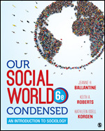Test Bank For Our Social World Condensed An Introduction to Sociology 6th Edition By Jeanne H. Ballantine, Keith A. Roberts, Kathleen Odell Korgen, ISBN 9781544344416