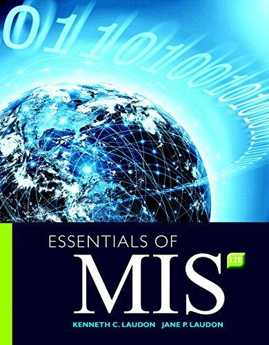 Test Bank for Essentials of MIS 12th Edition Laudon, Traver ISBN: 9780134473703 9780134473703Test Bank for Essentials of MIS 12th Edition Laudon, Traver ISBN: 9780134473703 9780134473703