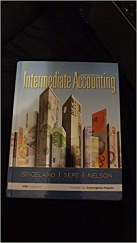 Test Bank for Intermediate Accounting 7th Edition J. David Spiceland, Wayne Thomas, Don Herrmann ISBN: 978-0078025327 978-0078025327