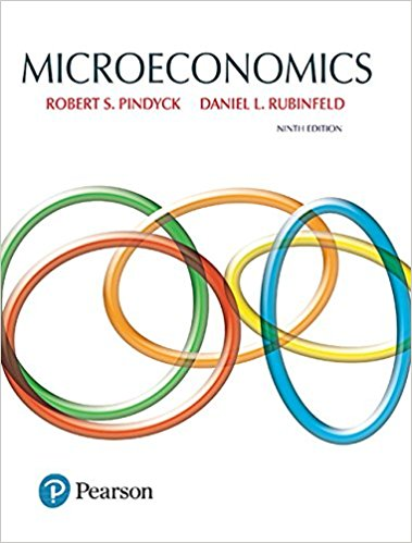 Test Bank for Microeconomics 9th Edition Robert Pindyck, Daniel Rubinfeld ISBN: 978-0134184241 978-0134184241