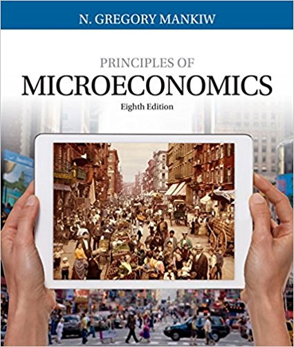Test Bank for Principles of Microeconomics 8th Edition N. Gregory Mankiw ISBN: 978-1305971493 978-1305971493