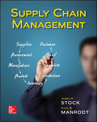 Test Bank for Supply Chain Management 1st Edition By James Stock, ISBN 10 1260395596, ISBN 13 9781260395594
