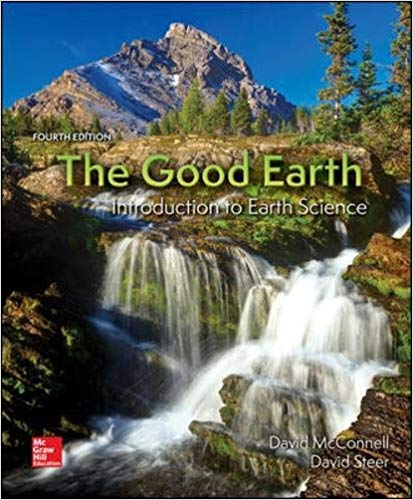 Test Bank for The Good Earth Introduction to Earth Science 4th Edition David McConnell, David Steer, Katharine Owens, Catherine Knight, Lisa Park ISBN: 978-0078022883 978-0078022883