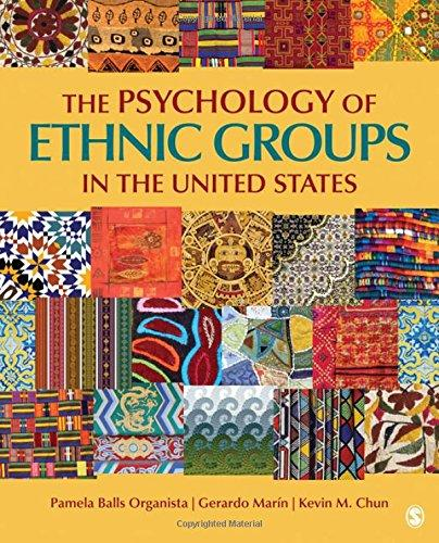 Test Bank for The Psychology of Ethnic Groups in the United States 1st Edition Pamela Balls Organista, Gerardo Marin, Kevin M. Chun ISBN: 9781412915403 9781412915403