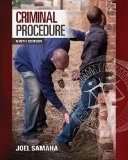 Test bank for Criminal Procedure 9th Edition Joel Samaha ISBN: 9781285457871 9781285457871