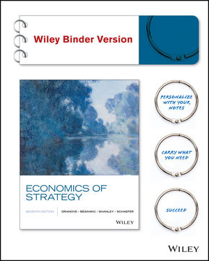 Test bank for Economics of Strategy 7th Edition Dranove,Besanko,Shanley,Schaefer ISBN: 978-1-119-17477-6 9781119174776