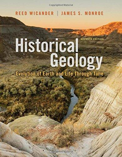 Test bank for Historical Geology 7th Edition Reed Wicander, James S. Monroe ISBN: 9781111987299 9781111987299