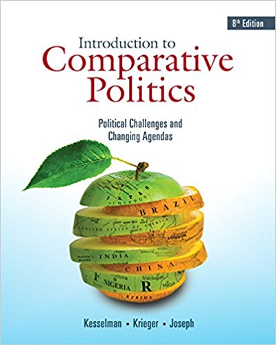 Test bank for Introduction to Comparative Politics: Political Challenges and Changing Agendas 8th Edition Mark Kesselman, Joel Krieger, William A. Joseph ISBN: 9781337560443 9781337560443