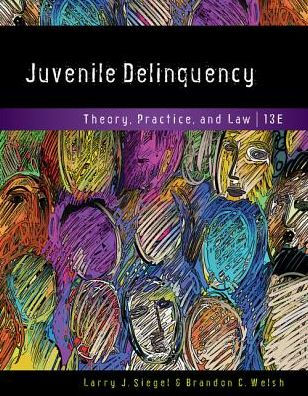 Test bank for Juvenile Delinquency: Theory, Practice, and Law 13th Edition Larry J. Siegel, Brandon C. Welsh ISBN: 9781337091831 9781337091831