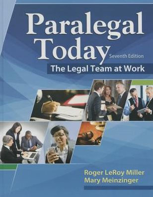 Test bank for Paralegal Today: The Essentials 7th Edition Roger Miller, Mary Meinzinger ISBN: 9781305508743 9781305508743