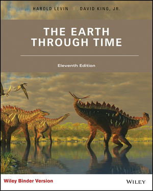 Test bank for The Earth Through Time 11th Edition Harold L. Levin, David T. King Jr. ISBN: 978-1-119-22834-9 9781119228349