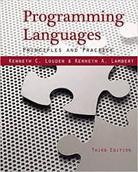 Test bank for Programming Languages: Principles and Practices 3rd Edition Kenneth C. Louden, Kenneth A. Lambert ISBN: 9781111529413 9781111529413