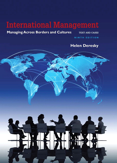 Solution Manual For International Management: Managing Across Borders and Cultures, Text and Cases, 9th Edition By Helen Deresky,ISBN-13:9780134379623