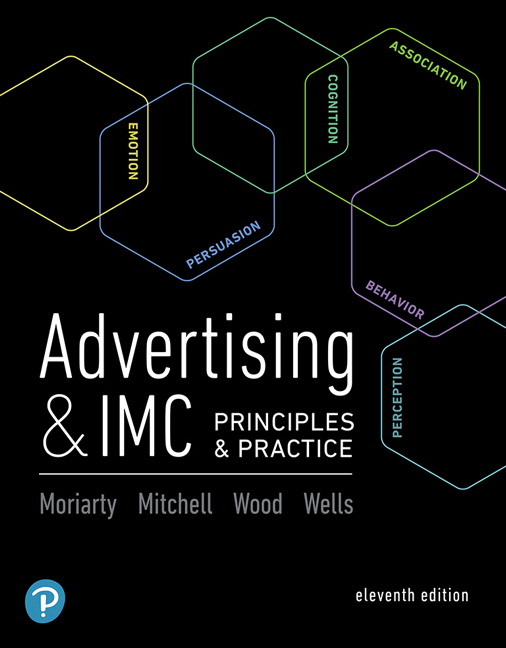 Solution Manual For Advertising & IMC: Principles and Practice, 11th Edition By Sandra Moriarty,Nancy Mitchell,Charles Wood,William D. Wells,ISBN-13: 9780134481302