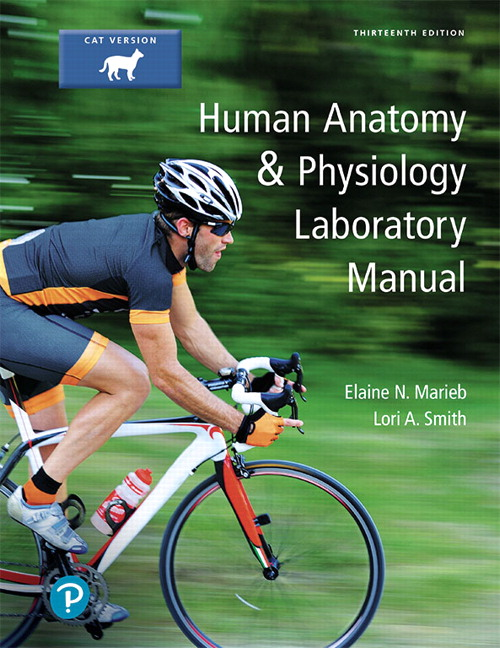 Solution Manual For Human Anatomy & Physiology Laboratory Manual, Cat Version, 13th Edition By Elaine N. Marieb,Lori Smith,ISBN-13:9780134778839