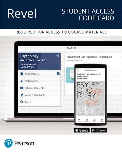 Solution Manual For Revel for Psychology An Exploration 4th Edition By Saundra K. Ciccarelli, J. Noland White, ISBN-10 0134639014, ISBN-13 9780134639017
