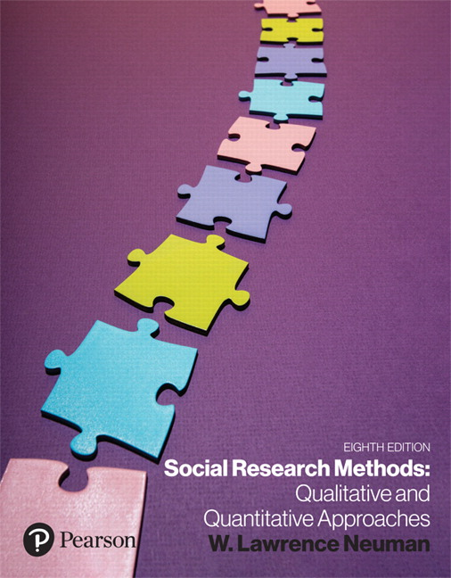 Solution Manual For Social Research Methods Qualitative and Quantitative Approaches [RENTAL EDITION] 8th Edition By Lawrence W Neuman, ISBN-139780134789637