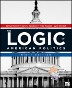 Solution Manual For The Logic of American Politics 9th Edition By Samuel Kernell, Gary C. Jacobson, Thad Kousser, Lynn Vavreck, ISBN 9781544322995, ISBN 9781071811887, ISBN 9781071806944