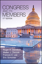 Test Bank For Congress and Its Members 17th Edition By Roger H. Davidson, Walter J. Oleszek, Frances E. Lee, Eric Schickler, ISBN: 9781544322957, ISBN: 9781071806951, ISBN: 9781544386966