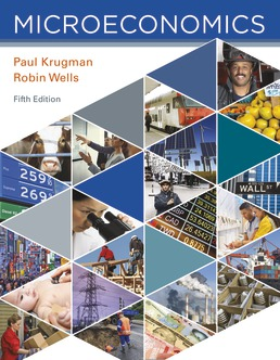 Test Bank For Microeconomics 5th Edition| ©2018 by Paul Krugman,Robin Wells,ISBN:9781319204624