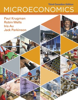 Test Bank For Microeconomics: Canadian Edition 3rd Edition| ©2018 by Paul Krugman,Robin Wells, Iris Au, Jack Parkinson,ISBN:9781319192327