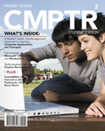 Solution Manual (Downloadable Files) for CMPTR2, 2nd Edition, Katherine T. Pinard, Robin M. Romer, ISBN-10: 1285096193, ISBN-13: 9781285096193