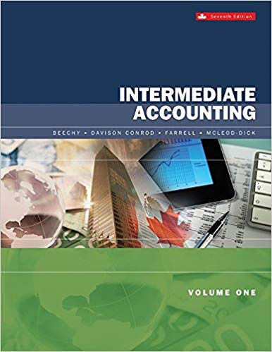 Solution Manual (Downloadable Files) for Intermediate Accounting, 7th Canadian Edition, Thomas Beechy, Joan Conrod, Elizabeth Farrell, Ingrid Mcleod-Dick, ISBN: 9781259108013, ISBN: 1259108872, ISBN: 9781259108877
