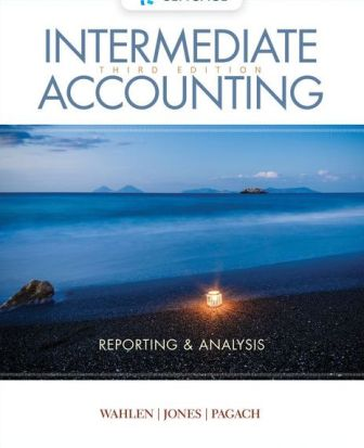 Solution Manual (Downloadable Files) for Intermediate Accounting: Reporting and Analysis, 3rd Edition, James M. Wahlen, ISBN-10: 1337788287, ISBN-13: 9781337788281