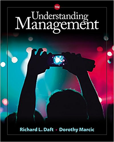 Solution Manual for Understanding Management 10th Edition By Richard L. Daft, Dorothy Marcic ISBN 9781305502215