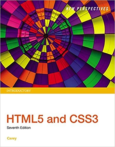 Solution manual for New Perspectives HTML5 and CSS3 Introductory 7th Edition By Patrick Carey, ISBN 9781305578203