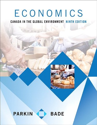 Test Bank (Downloadable Files) for Economics: Canada in the Global Environment, 9th Edition, Michael Parkin, Robin Bade, ISBN 10: 032193119X, ISBN 13: 9780321931191