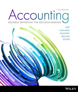 Solution Manual For Accounting Business Reporting for Decision Making 6th Edition By Jacqueline Birt, Keryn Chalmers, Suzanne Maloney, Albie Brooks, Judy Oliver, ISBN 9780730362951