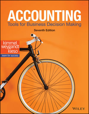 Solution Manual For Accounting Tools for Business Decision Making 7th Edition By Paul D. Kimmel, Jerry J. Weygandt, Donald E. Kieso, ISBN 9781119494799